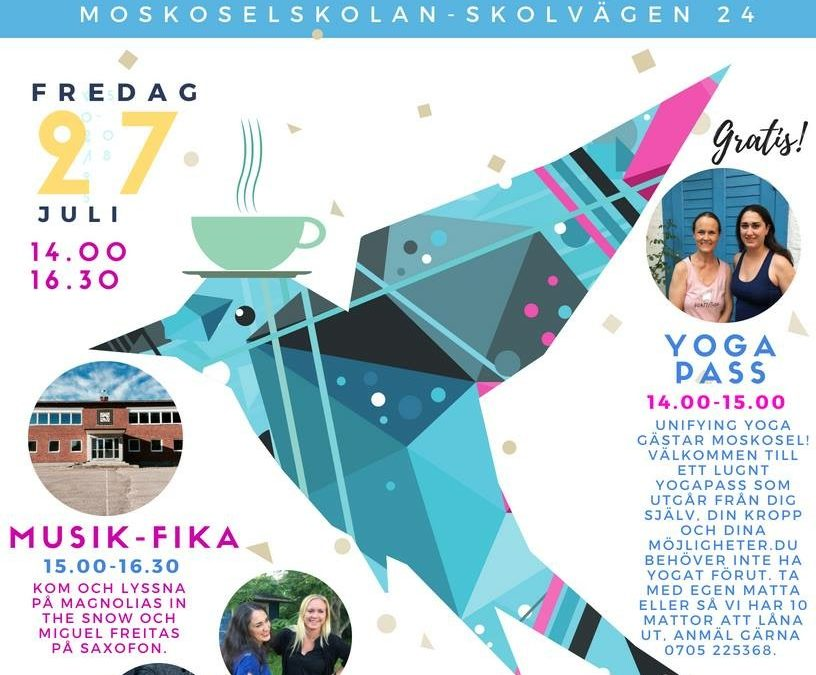 Unifying Yoga i Moskosel